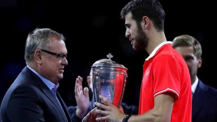 Turniej ATP w Moskwie: Trzeci tytuł Chaczanowa