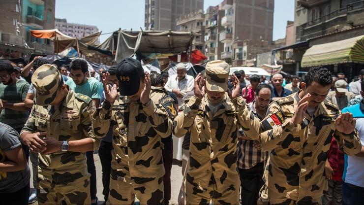 Egipskie siły specjalne zlikwidowały 16 domniemanych sprawców ataków na Synaju