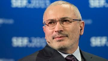 Rosja znów chce aresztować Chodorkowskiego