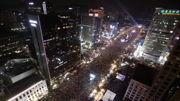 Seul: setki tysięcy w marszu przeciwko prezydent