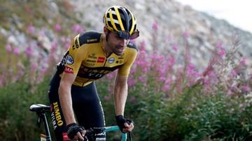 Utytułowany kolarz Tom Dumoulin potrącony przez samochód