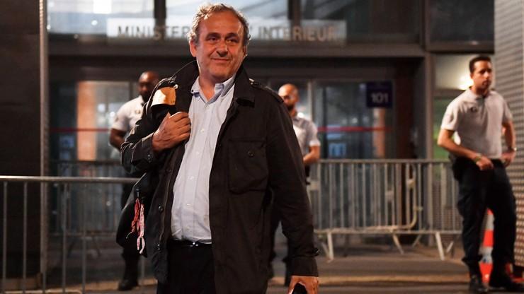 Afera FIFA: Platini zwolniony po przesłuchaniu