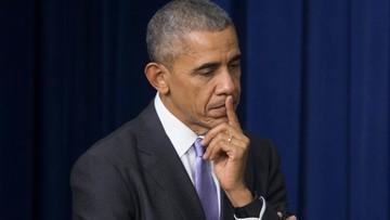"""""""Musimy i będziemy reagować na próby ingerencji w proces wyborczy"""". Obama w kontekście rosyjskich hakerów"""