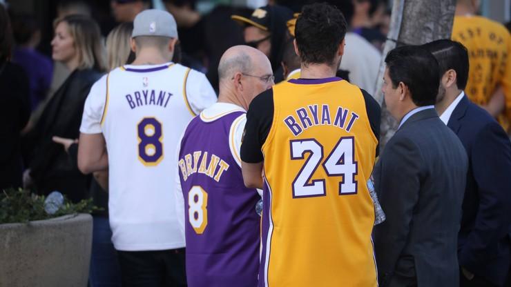 NBA: Lakers chcą grać w czarnych koszulkach, aby oddać hołd Kobemu Bryantowi