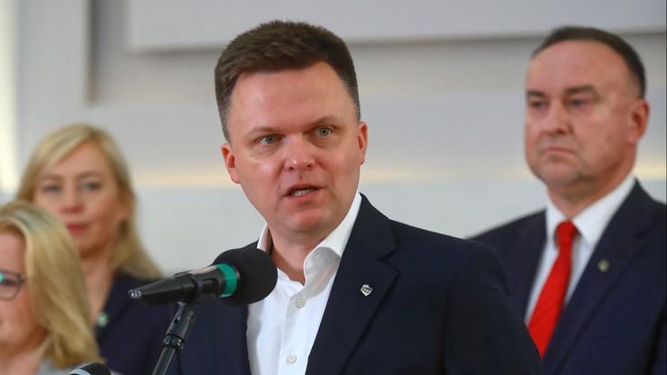 Podejrzenie nieprawidłowych wpłat na komitet Hołowni. Chodzi o prawie 140 tys. zł