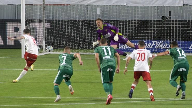 Fortuna Puchar Polski: Kolejna niespodzianka! ŁKS Łódź lepszy od Śląska Wrocław