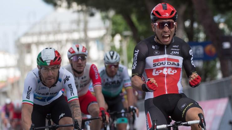 Giro d'Italia: Ewan znów wygrał etap, Valter wciąż liderem