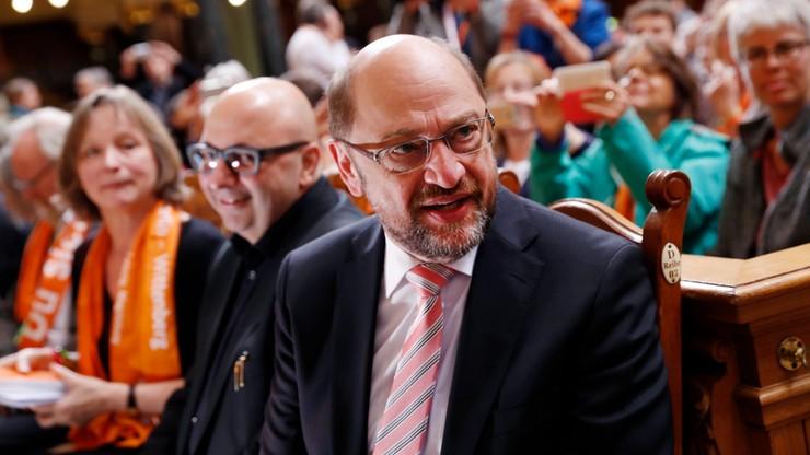 Niemcy: Schulz zarzuca Trumpowi polityczny szantaż