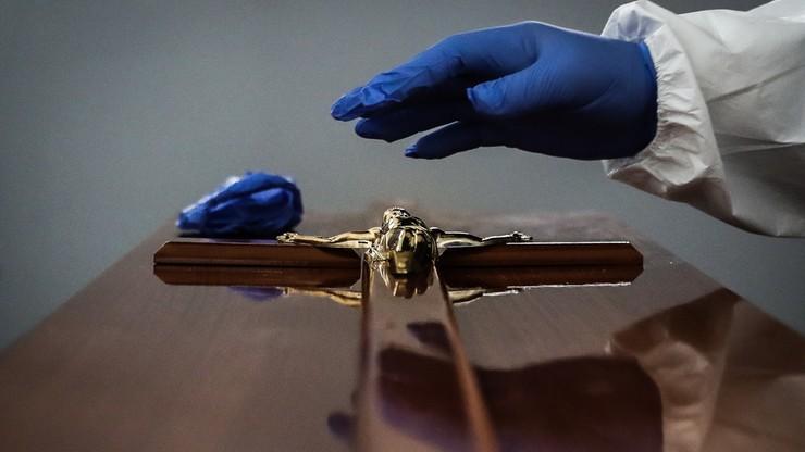 Portugalia. Paraliż zakładów pogrzebowych wskutek pandemii