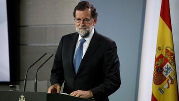 Premier Hiszpanii rozwiązał parlament Katalonii. Zapowiedział odwołanie katalońskiego rządu