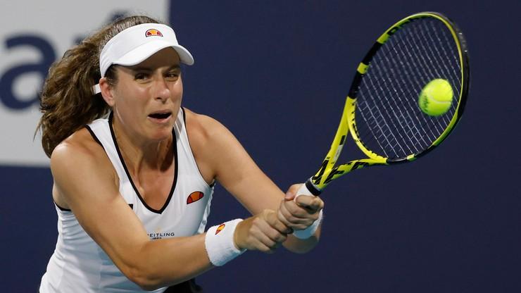 WTA w Nottingham: Pierwszy od czterech lat tytuł Konty