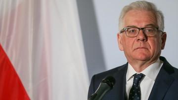 Szef MSZ: w Jedwabnem Polacy zabili Żydów, nie można jednak piętnować narodu za działania jednostek