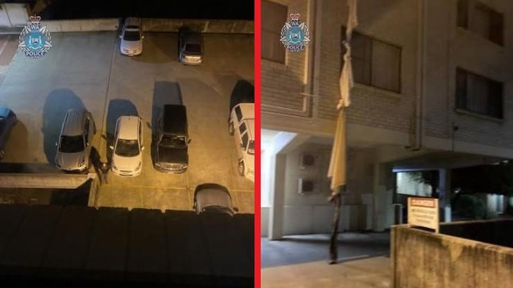 COVID-19 w Australii. Mężczyzna przywiązał prześcieradła, aby uciec z hotelu. Mieszkał na 4. piętrze