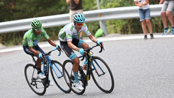Vuelta a Espana: Majka trzynasty podczas dziewiątego etapu, Quintana liderem