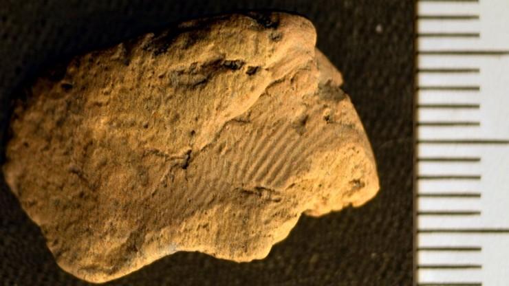 """Archeolodzy odkryli odcisk palca sprzed 5 tys. lat. Chcą wiedzieć więcej o """"właścicielu"""""""