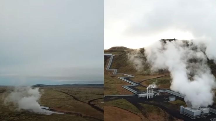 """Islandia. Ruszyła """"fabryka"""" zmieniająca CO2 w skałę. To największe tego typu urządzenie na świecie"""