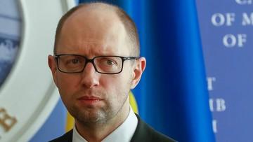 Premier Ukrainy: nie poddamy się naciskom