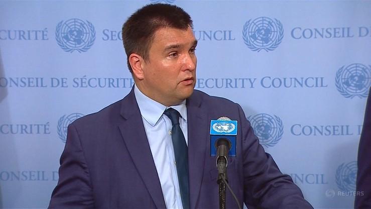 Szef MSZ Ukrainy: nadszedł czas na podjęcie działań na rzecz powrotu Krymu