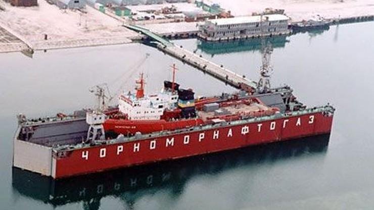 Ukraina: Rosjanie szukają nielegalnie gazu na naszych wodach