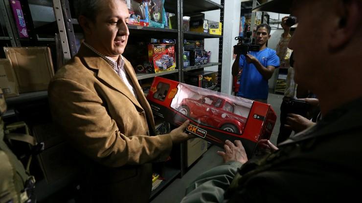 Rząd zarekwirował 4 mln zabawek, rozda je dzieciom na gwiazdkę