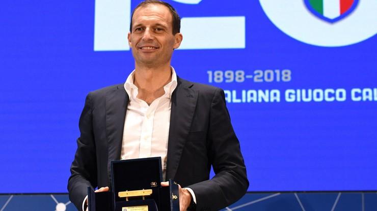 """Massimiliano Allegri ze """"Złotą Ławką"""""""