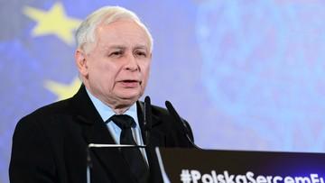 Prezes PiS: takie same proszki jak w Niemczech są sprzedawane w Polsce, tylko gorzej piorą