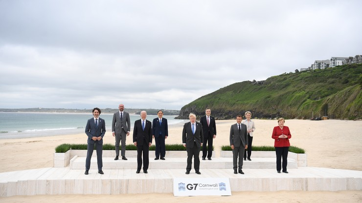 Państwa G7 zadeklarowały przekazanie ponad 1 mld dawek szczepionek przeciw COVID-19 krajom uboższym