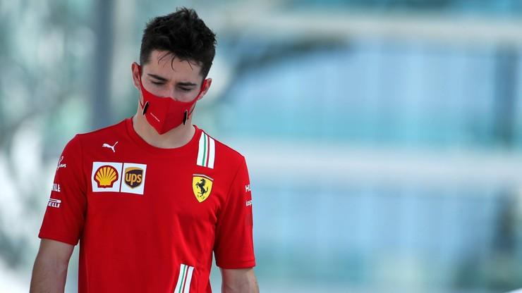 Formuła 1: Charles Leclerc z Ferrari zakażony koronawirusem