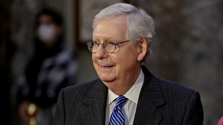 Media: szef Republikanów w Senacie uważa, że Trump zasługuje na impeachment