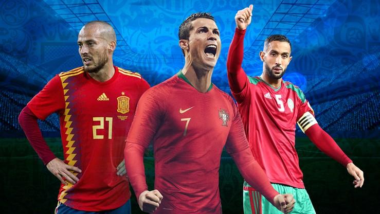 MŚ 2018: Grupa B. Portugalia, Hiszpania, Maroko, Iran