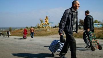 Ukraina: strony konfliktu w Donbasie zaczynają wycofywać swoje siły