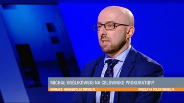 To dziwne, że informacje z prokuratury na temat prof. Królikowskiego wyciekają akurat teraz - rzecznik prezydenta