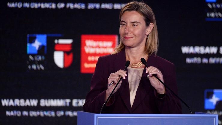 Mogherini: ws. bezpieczeństwa możliwe szczególne partnerstwo UE z Londynem
