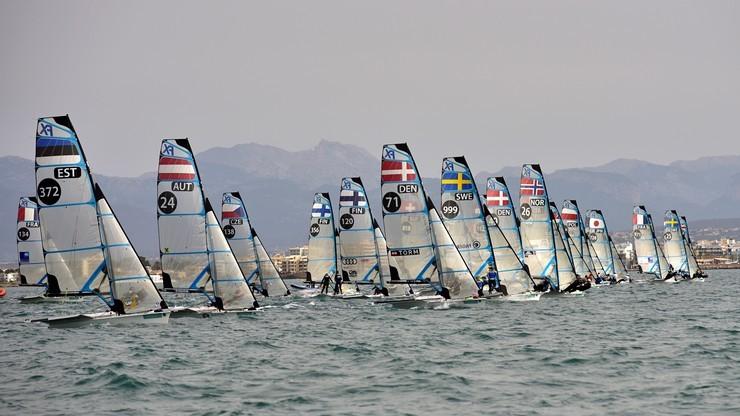 MŚ w żeglarstwie: Skrzypulec i Ogar siódme w klasie 470 na olimpijskim akwenie