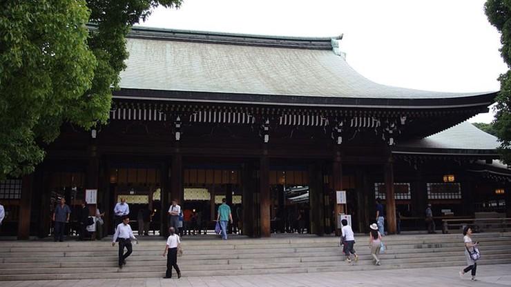 Akt wandalizmu w słynnej świątyni Meiji. Podejrzane są dwie Chinki