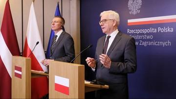 Czaputowicz: Rosja głównym zagrożeniem dla Europy Środkowej