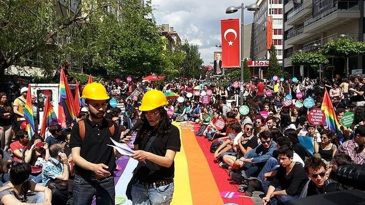 W stolicy Turcji zakaz organizacji wydarzeń kulturalnych o tematyce LGBT