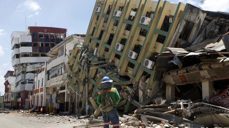 Do 525 wzrosła liczba ofiar trzęsienia ziemi w Ekwadorze
