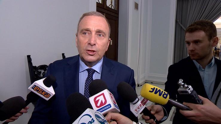 Schetyna: cieszę się, że spotkanie z prezydentem USA nie będzie tylko partyjnym spotkaniem PiS