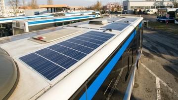 Kraków: rozpoczęły się testy autobusów z technologią fotowoltaiczną