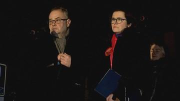 Prezydent Gdańska poparła kandydującego do Sejmu Piotra Adamowicza