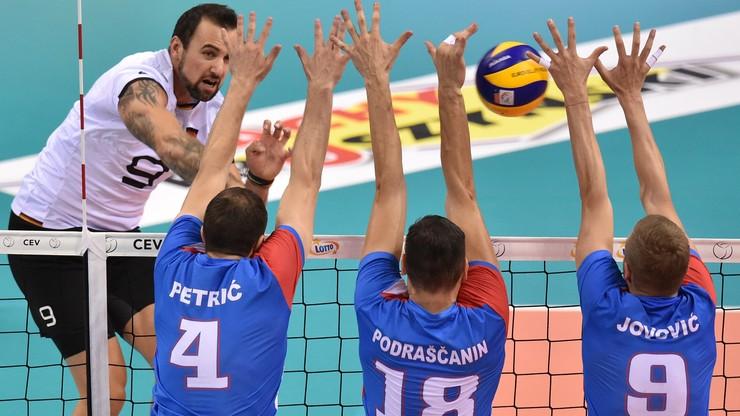 ME siatkarzy 2019: Serbia - Niemcy. Transmisja w Polsacie Sport Extra