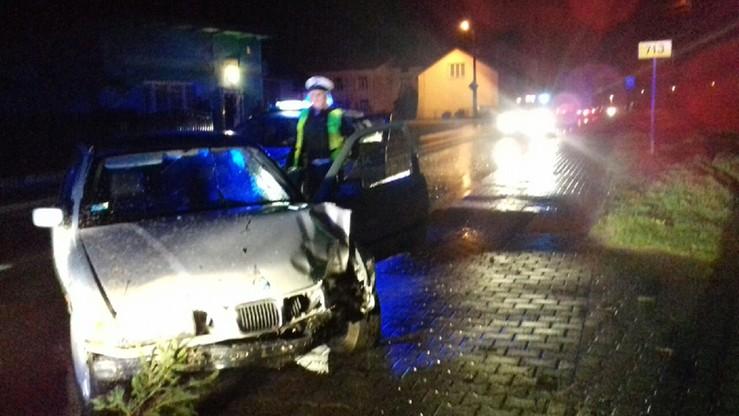 Pijany kierowca potrącił autem interweniującego policjanta