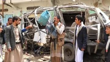 Nalot na autobus szkolny w Jemenie. Zginęło 40 dzieci. Koalicja przyznaje się do błędu