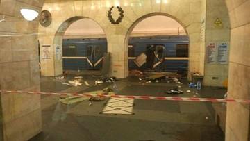 Służby specjalne: Rosjanin z Kirgistanu sprawcą zamachu w metrze