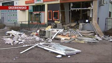 Chcieli wysadzić bankomat. Zburzyli cały bank
