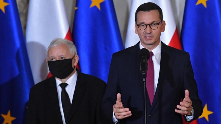Jarosław Kaczyński wicepremierem. Morawiecki: będzie dużym wzmocnieniem