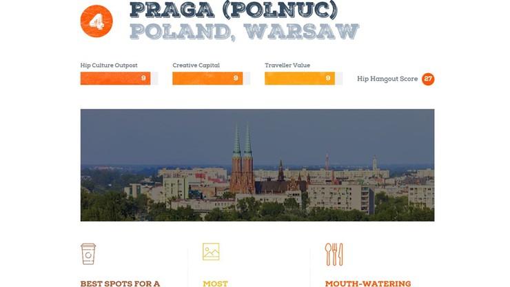 """Warszawska Praga czwartą najciekawszą dzielnicą w Europie. """"Nowe miesza się ze starym"""""""