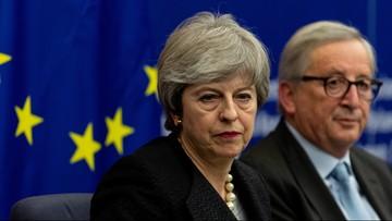 """""""Albo ta umowa, albo brexit może się w ogóle nie wydarzyć"""". Juncker o porozumieniu z May"""
