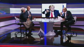 """""""Klęczycie przed Trumpem"""". Joanna Kluzik-Rostkowska o polityce zagranicznej rządu"""